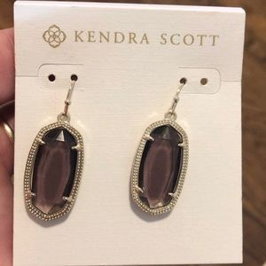 Purple Kendra Scott earrings
